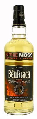 The BenRiach Birnie Moss Peated Whisky