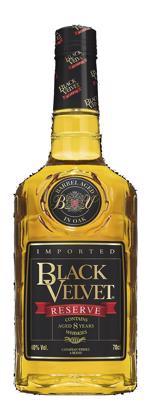 Black Velvet 12 Yrs Onyx