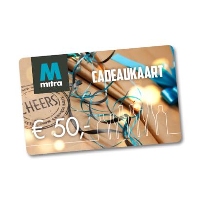 Mitra Cadeaukaart € 50