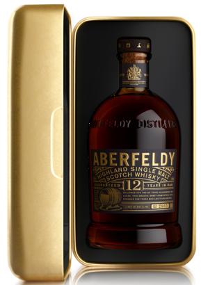 Aberfeldy 12 Yrs in Gold Bar