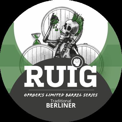 Brouwerij Oproer RUIG Traditional Berliner