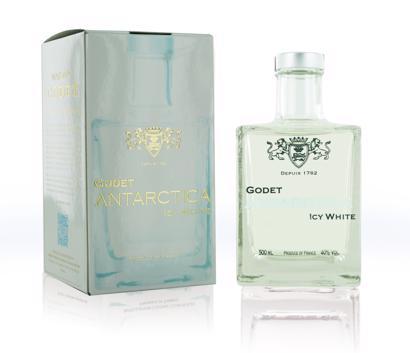 Godet Icy White Antarctica