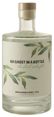 No Ghost Herbal Delight gin smaak alcoholvrij