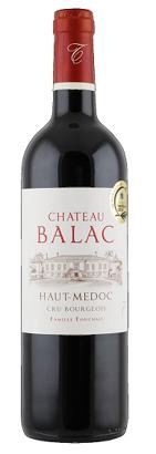 Château Balac Haut-Médoc Cru Bourgois