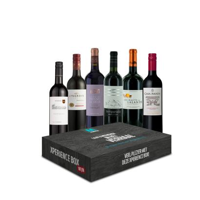 Xperience Box 6 x Rode wijn