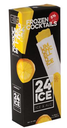 24 ICE Limoncello ijs doos 5 stuks