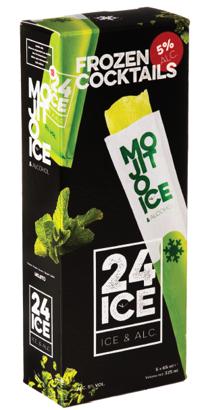 24 ICE Mojito ijs doos 5 stuks