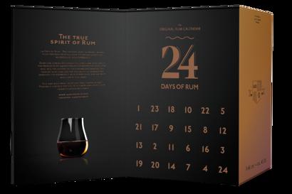 adventdoos 24 Days of Rum - Adventskalender