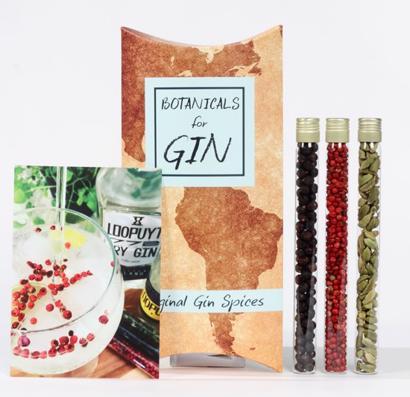 Gin Botanicals Botanicals Tubes