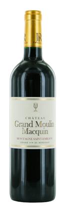 Ch. Grand Moulin Macquin Montagne Saint Émilion