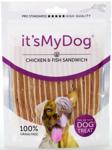 IT'S MY DOG CHICKEN & FISH SANDWICH 85 GRAM