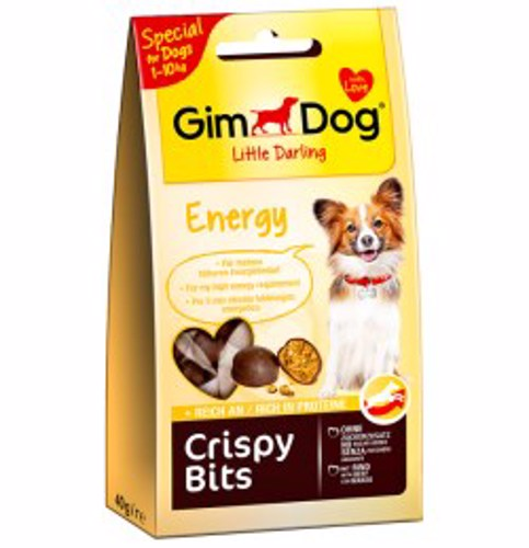 GIMDOG CRISPY BITS ENERGY 40 GR
