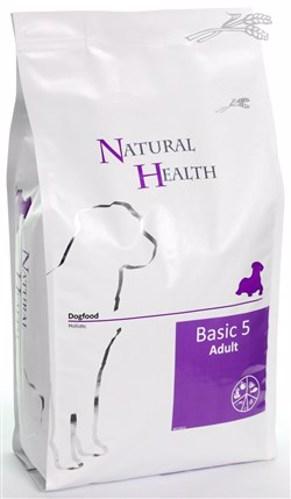 NATURAL HEALTH DOG BASIC 5 3KG
