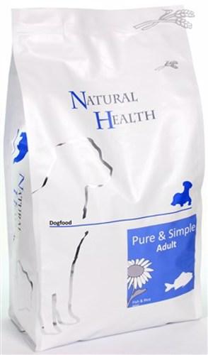 NATURAL HEALTH DOG VIS/RIJST 2,5KG