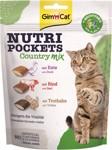 GIMCAT NUTRI POCKETS COUNTRY-MIX 150 GRAM