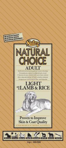 NUTRO ADULT LIGHT LAMB/RICE 6KG
