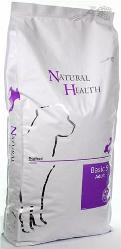 NATURAL HEALTH DOG BASIC 5 12,5 KG
