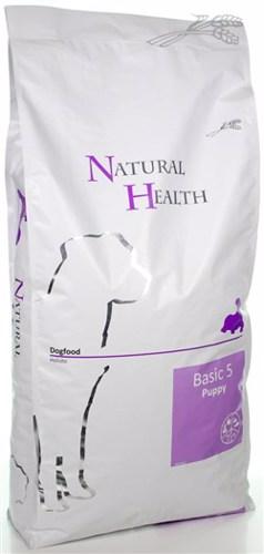 NATURAL HEALTH DOG BASIC 5 PUPPY 12,5 KG