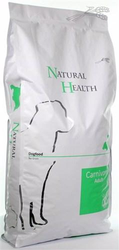 NATURAL HEALTH DOG CARNIVORE  15KG