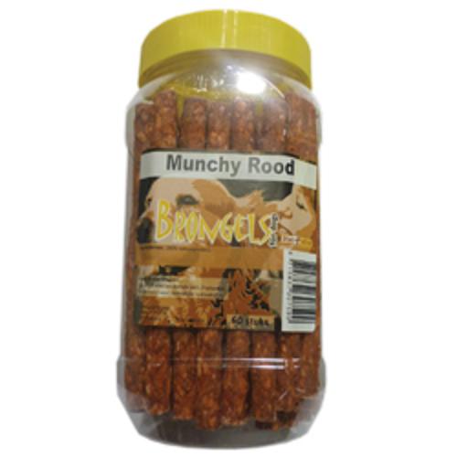 BRONGELS MUNCHY ROOD CA. 60 STUKS POT
