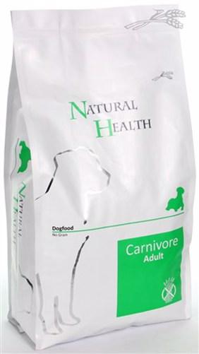 NATURAL HEALTH DOG CARNIVORE  3KG
