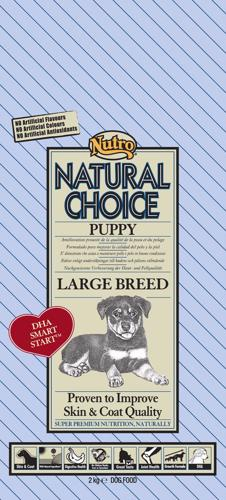 NUTRO PUPPY LARGE CHICKEN/RICE 2 KG