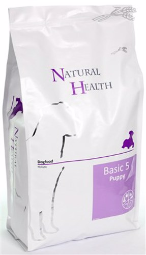 NATURAL HEALTH DOG BASIC 5 PUPPY 3KG