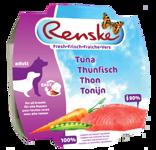 RENSKE HOND MET TONIJN 100GR