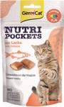 GIMCAT NUTRI POCKETS ZALM 60 GRAM