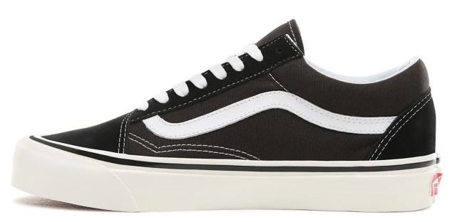 vans mid skool 37 dx trainers in black