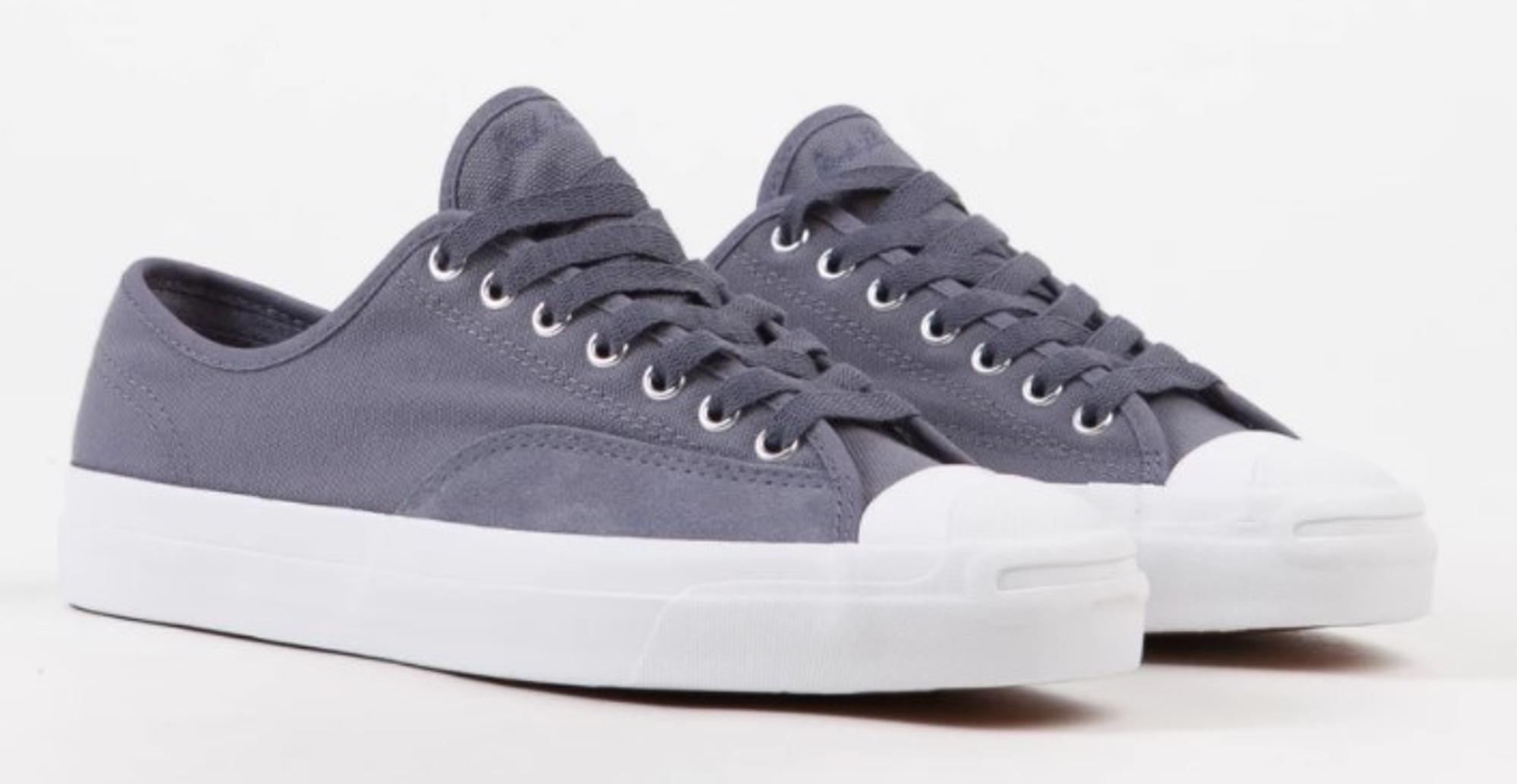 Converse Jack Purcell Pro Ox Shoes - Black / Pale Grey