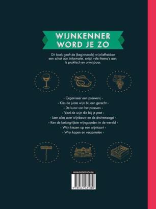 Boek Wijnkenner word je zo