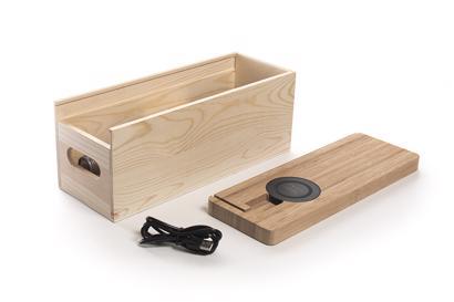 RackPack Juicebox - Wijnkist met Charging Dock