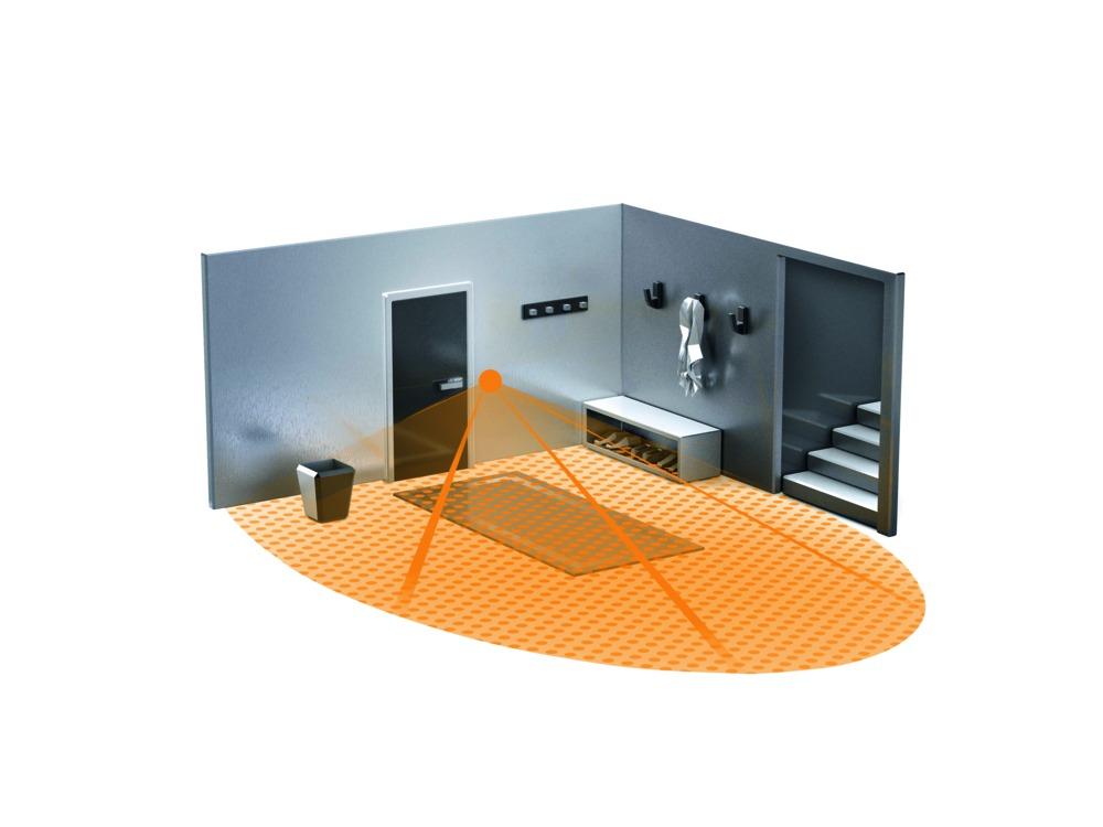 Inbouw Trekschakelaar Badkamer : Steinel schakelaar ir180up inbouw infrarood sensor bouwmaat