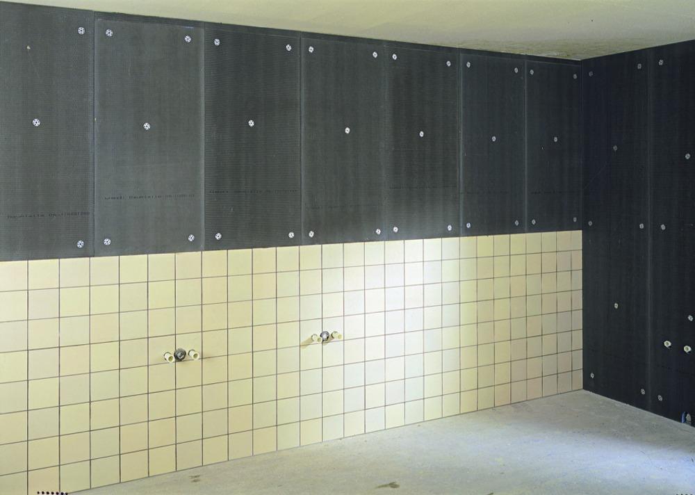 wedi bouwplaat 60x125 cm dikte 4 mm bouwmaat. Black Bedroom Furniture Sets. Home Design Ideas