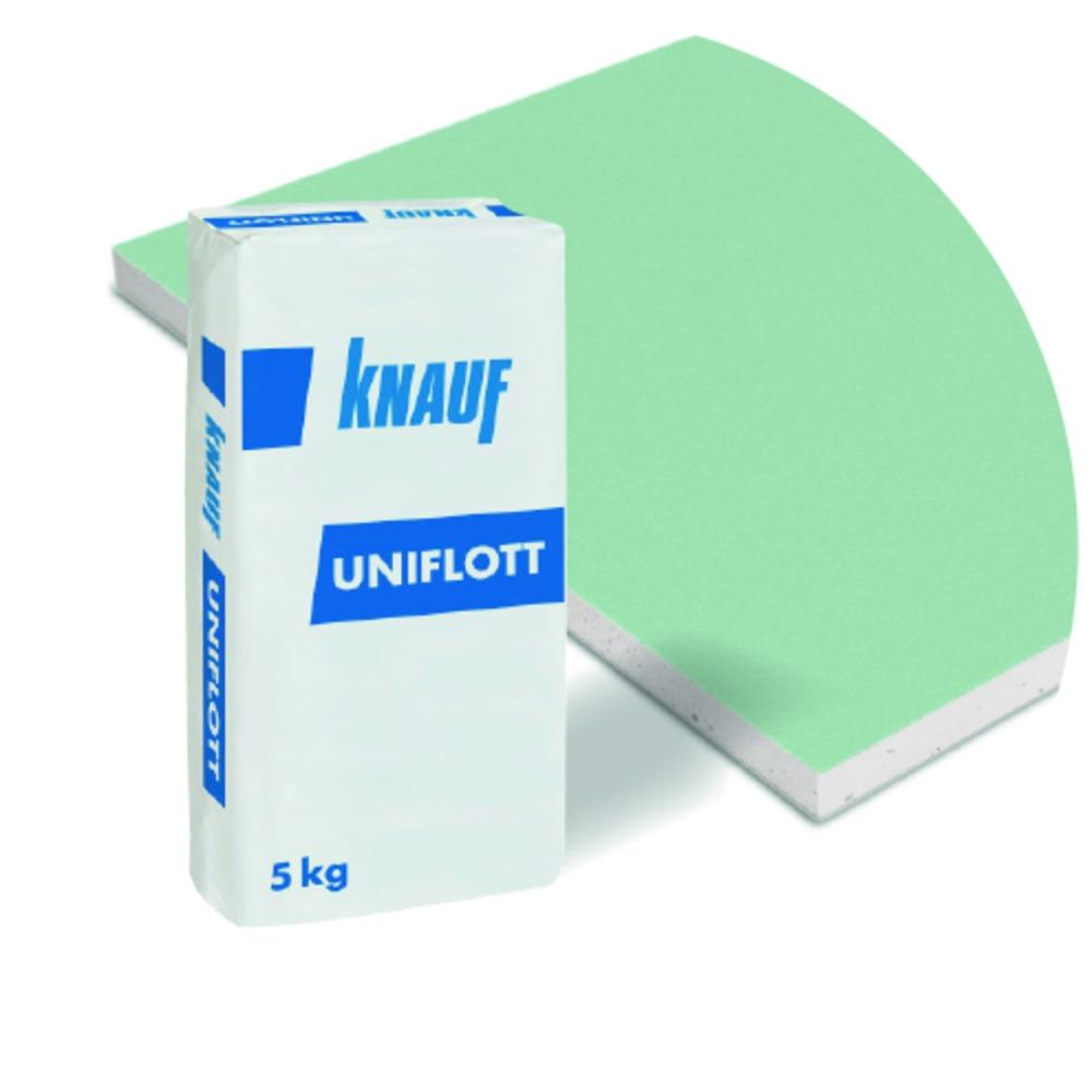 knauf uniflott speciaal voegmateriaal crème 5 kg - bouwmaat