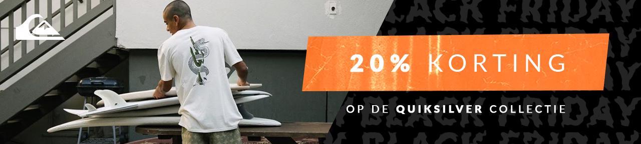Quiksilver heren -20%