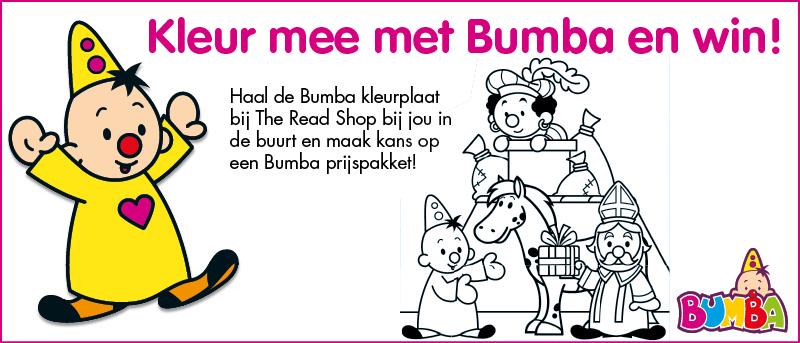 Bumba Wedstrijd Met Kleurplaat