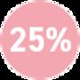 25% Shiseido