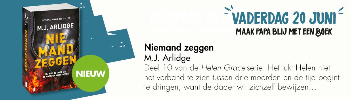 NIEMAND ZEGGEN - MJ ARLIDGE