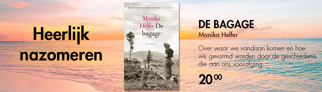 DE BAGAGE - MONIKA HELFER - 20,00