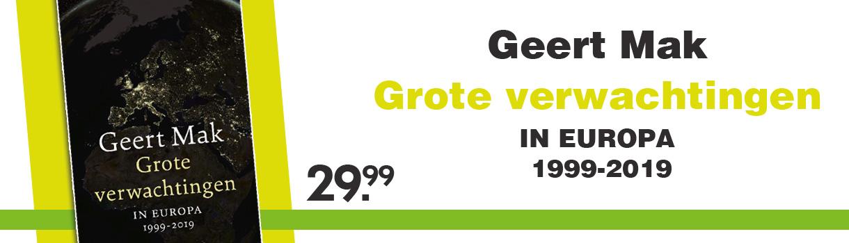 GROTE VERWACHTINGEN - Geert Mak - 29,99
