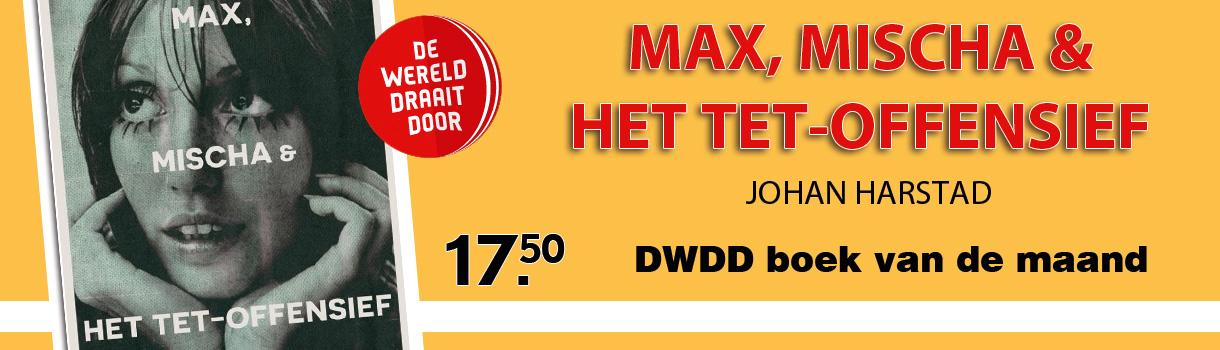 DWDD boek van de maand - Max, Mischa & het Tet-offensief - 17,50