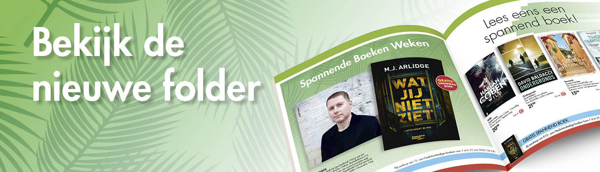 Bekijk onze nieuwe folder: spannende boekenweek / Vaderdag