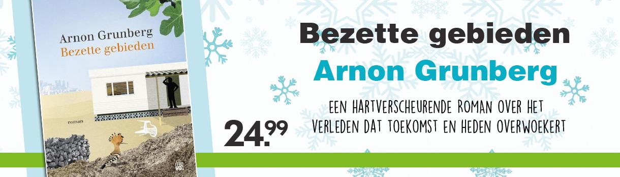 BEZETTE GEBIEDEN - 24,99 - ARNON GRUNBERG