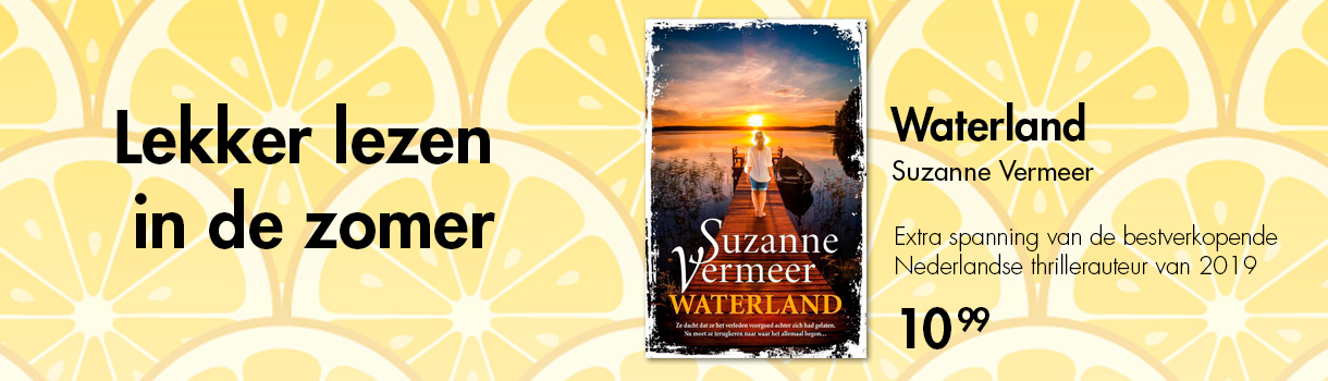 WATERLAND - SUZANNE VERMEER - 10,99
