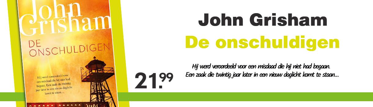 DE ONSCHULDIGEN - JOHN GRISHAM - 24,99