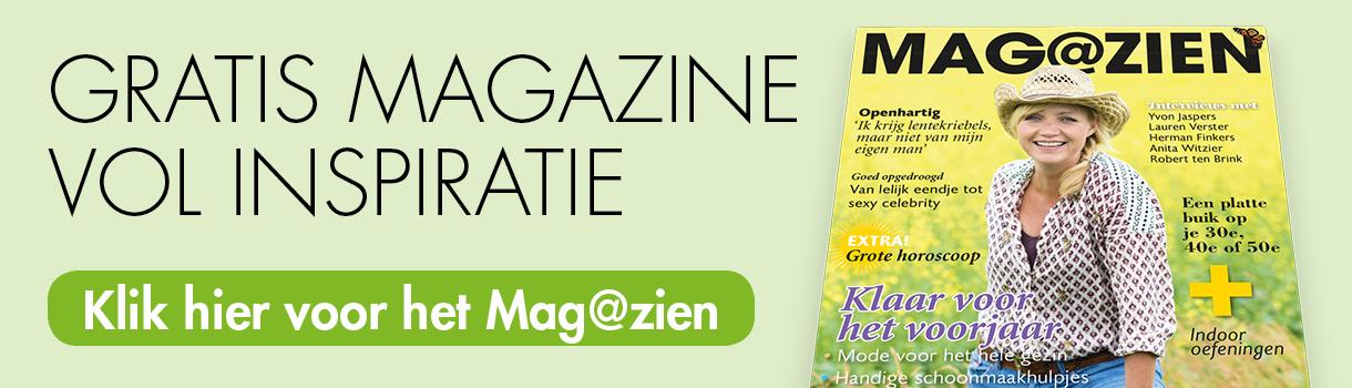 Gratis Magazine vol inspiratie