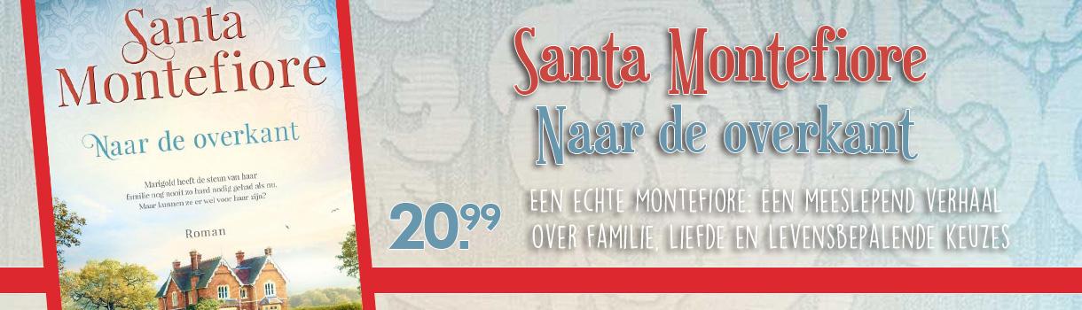 Santa Montefiore - Naar de overkant - 20,99