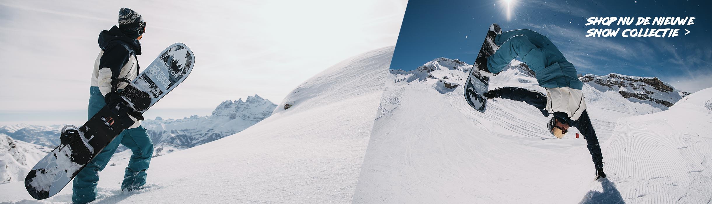 Nieuwe Snowboard collectie